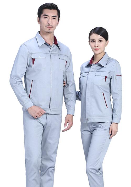 银灰反光条工服