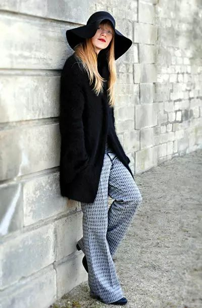 冬季穿什么样的裤子显瘦?